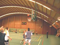 Basketbal in de Tetterodehal